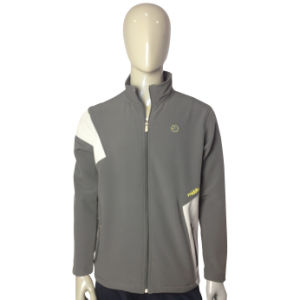 Custom Women′s Windproof Sport Softshell Jacket pictures & photos