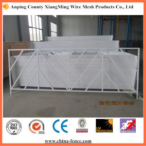 Powder Coated Welded Roadside Barricades for Sale pictures & photos