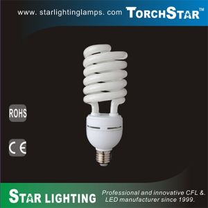 T4 Half Spiral E27 Base 35W CFL Lamp pictures & photos