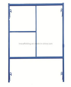 American Type Powder Coated Painted Mason Frame Scaffolding System Made in China for Sales pictures & photos