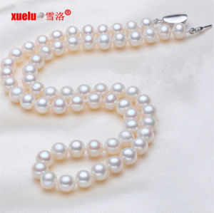 7-8mm Perfect Round AAA Freshwater Pearl Necklace Jewelry (E130016) pictures & photos