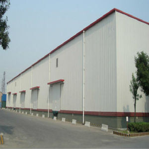 Light Mild Steel Prefab Warehouse with Ce Certification pictures & photos