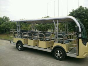 14 Passengers Electric Sightseeing Bus with Doors pictures & photos