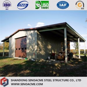 Steel Construction Warehouse for Farming with Canopy pictures & photos