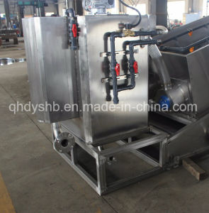 2017 New Invention Dewatering Screw Press for Industrial Sewage Treatment pictures & photos