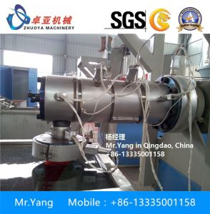 Pet Flakes Yarn Making Machine for Pet Brush Broom pictures & photos