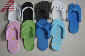 Disposable EVA Hotel Slippers pictures & photos
