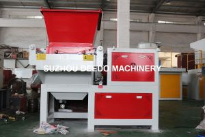 Single Shaft PE Lumps, Bullions Shredder pictures & photos