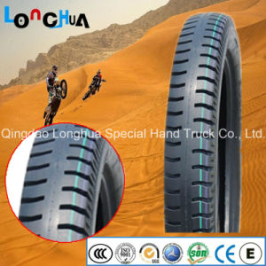 Natural Rubber High Quality Motorcycle Tire with Classic Pattern pictures & photos
