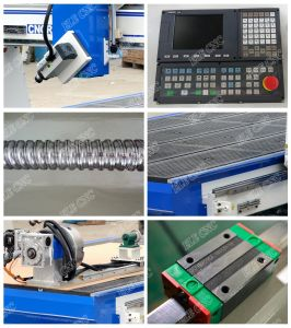 CNC Router Rotary 4th Axis, Taiwan Syntec CNC Router pictures & photos