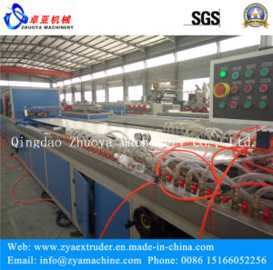 Foamed WPC Hollow Grid Interior Wall Decorative Board/Panel Machine pictures & photos