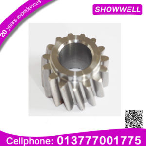 Precision Small Stainless Steel Spur Gear, Metal Double Spur Gear for Machine Planetary/Transmission/Starter Gear pictures & photos