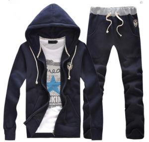 Men′s Hoodie Suit, Outdoor Sweatshirt, Customer Sports Wear pictures & photos