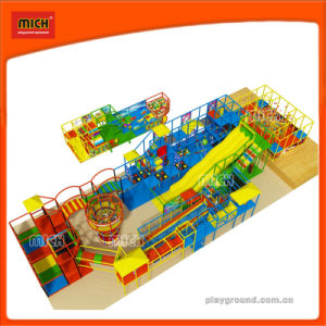 Patented Design Indoor Playground Park with Big Slide pictures & photos