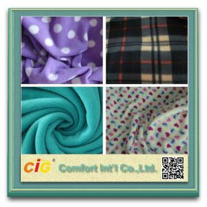 Cheap Price Blankets Micro Polar Fleece Fabric pictures & photos