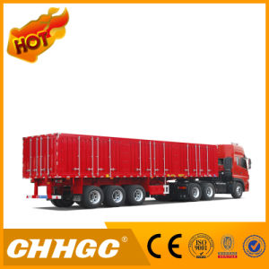Chhgc Hot Sale New Type Van/Box Carrying Beverage Semi Trailer pictures & photos