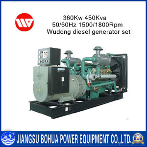 Durability & Reliability 450kVA Wudong Diesel Generators for Sale