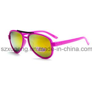 Factory Directly Sale Dazzle Colour Pilot Style Kids Sunglasses