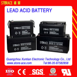 12V 38ah Long Life Deep Cycle Sealed Lead Acid Battery pictures & photos