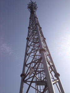 Self Supporting 3 Leg Triangular Lattice Telecom Tower Manufacturer pictures & photos