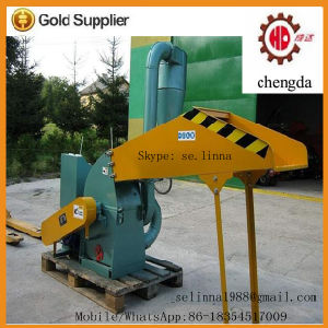 Sawdust Grinding Machine/ Wood Hammer Mill with Cyclone pictures & photos