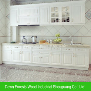 Kitchen Furniture Melamine Lamitated Kitchen Cupboard pictures & photos
