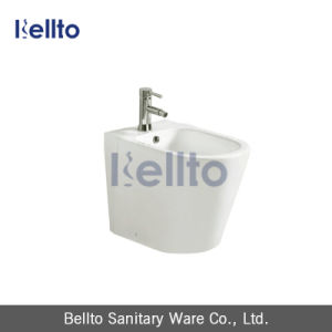 White Ceramic Back to Wall Bidet with Bathroom Accessories (416B) pictures & photos