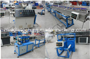 Pipe Extrusion Line Soft PVC/SPVC Pipe Production Line pictures & photos