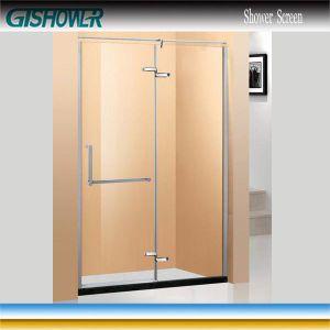 Tempered Glass Pivot Shower Door (BP0921) pictures & photos