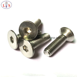 Stainless Steel Csk Head Hexagon Socket Bolt / Screw pictures & photos