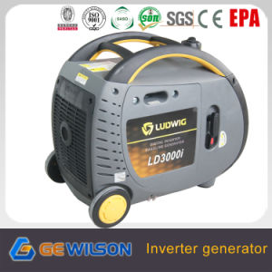 3000W Digital Inverter Generator with Wheels and Handles pictures & photos