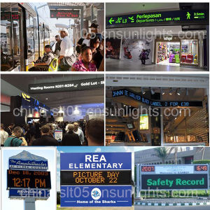 Hot Selling P10 Outdoor Red Color LED Sign LED Displays pictures & photos