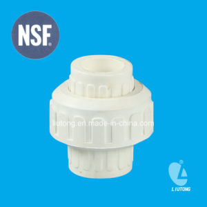 PVC-U Union ASTM D2466 Standard for Supply Water with NSF Certificate pictures & photos