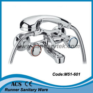 Bathtub Mixer with Fork Rest & Normal Shower (M51-601) pictures & photos