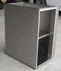 Stainless Steel Cabinet (Metal Kitchen cabinet) pictures & photos