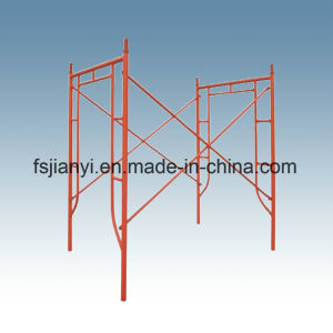 Adjustable Q235 Steel H-Frame Scaffold pictures & photos