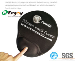 Colorfull Logo Printing Gel Mouse Pad with Wrist Rest pictures & photos