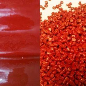 Plastic Red Blowing Film Color Masterbatch (CM-S010)