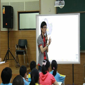 Golden Quality Portable Interactive Whiteboard for Teaching or Meeting pictures & photos