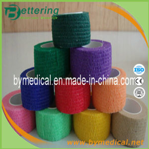 Non Woven Cohesive Bandage 2.5cmx4.5m pictures & photos