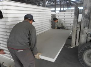 Magnesium Oxide Sandwich Panel for Wall Insulated pictures & photos