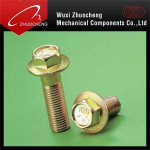 Fastener Flange Bolts (DIN6921) pictures & photos