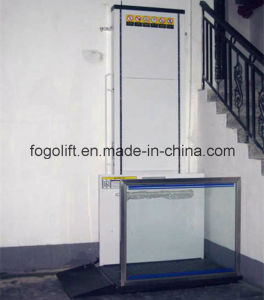 "28""-77"" Commercial Wheelchair Platform Lifts pictures & photos"