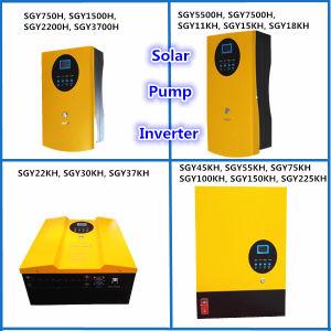 Solar Pump Inverter for 3 Phase AC220/380V Pump (750W-225kw)
