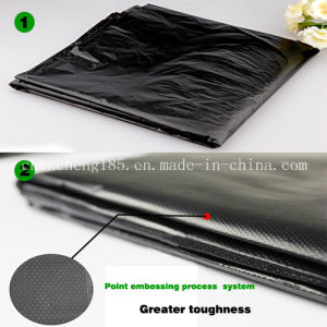 High-Density Polyethylene Large Garbage Bag / Star Sealed Bags pictures & photos
