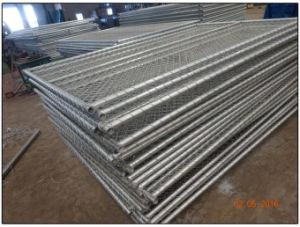 Temporary Construction Fence for Sale Customized You Own Chain Link Temporary Fence From China Factory pictures & photos