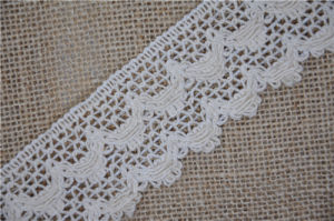 Hot Sell Cotton Lace for Decoration pictures & photos
