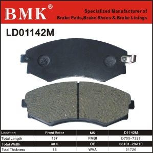High Quality Brake Pad (D1142M) pictures & photos