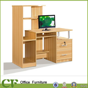High Computer Table with Bookcase CF-C10301 pictures & photos