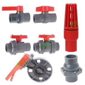 Plastic Valves (socket or thread) pictures & photos